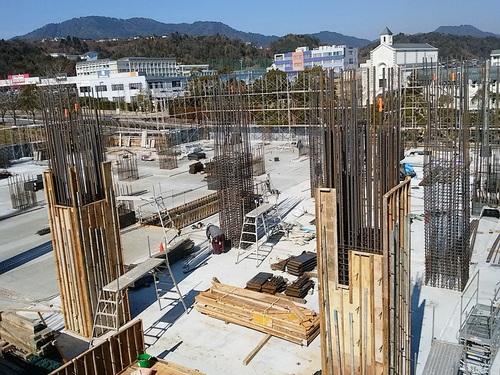 2月:2階柱の鉄筋・型枠工事.jpg