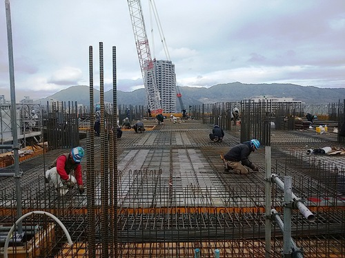 2月:3階床の鉄筋工事.jpg